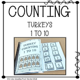 THANKSGIVING ADAPTED BOOK COUNTING 1 TO 10