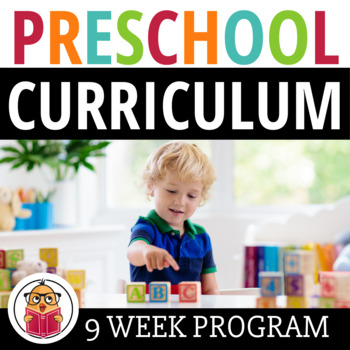 Pre-K Curriculum Pack - 9 Weeks Of Lessons - 475 Pages