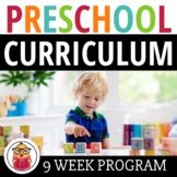 Pre-K Curriculum Pack - 9 Weeks Of Lessons - 475 Pages : P