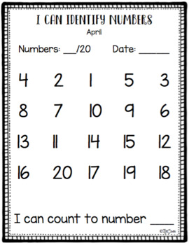 Pre-K Data Notebook