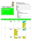 Pre K December Calendar/Newsletter