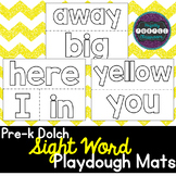 Pre-K Dolch Sight Word Playdough Mats