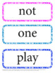 Pre-K Dolch Sight Word - Word Wall