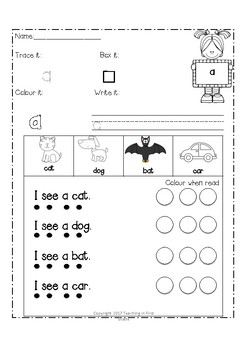 Pre - K Dolch Sight Words (Word Work, Fluency, Spelling Words)