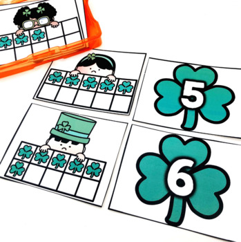 Pre-K Early Finisher Task Cards - March