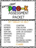 Pre-K Assessment: Easy Flow Pre-K Assessment Packet