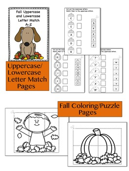 Pre-K/Kindergarten Fall Bundle
