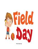 Pre-K Field Day