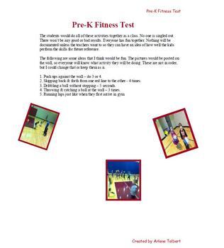 Pre-K Fitness Testing