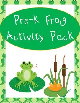 Pre-K Frog Activity Pack