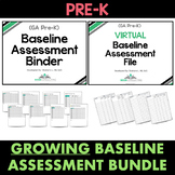 Pre-K GROWING BASELINE ASSESSMENT BUNDLE