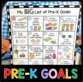 Pre-K Goals Checklist - Incentive Chart - Awards - Common