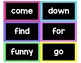 Pre-K - Grade 3 {Dolch Sight Word} Word Wall Cards