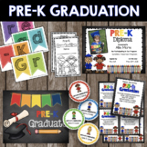 Pre-K Graduation BUNDLE - Diploma - Invitation - Banner -