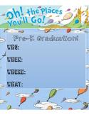Pre-K Graduation Invitation