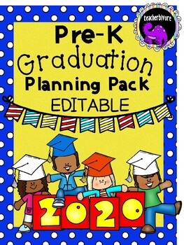 Pre-K Graduation Print-and-Go Planning Pack
