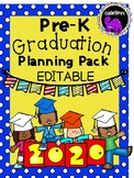 EDITABLE Pre-K Graduation Print-and-Go Planning Pack