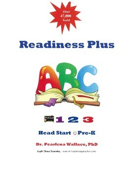 Head Start, Kindergarten, Pre-K , Literacy NO PREP  Activi
