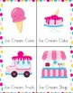 Pre-K Ice Cream Learning Pack