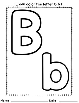 Pre-K Journal & Writing Practice Pages & Prompts-Alphabet