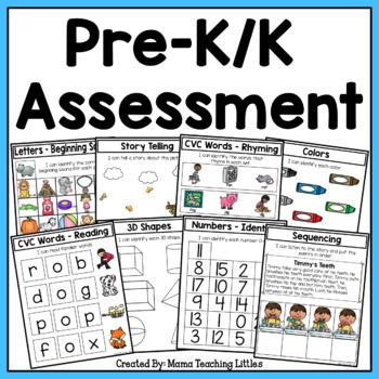 Pre-K/ K Assessment