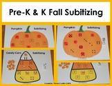 Pre-K & K Fall Subitizing