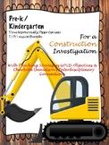 Pre-K/Kdg Construction Lesson Plans Aligned w/ Teaching St