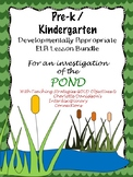 Pre-K/Kdg Pond Life Lesson Plans Aligned with Teaching Strategies GOLD