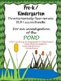 Pre-K/Kdg Pond Life Lesson Plans Aligned with Teaching Str