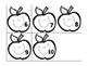 Pre-K/Kinder Back To School Apple Counting 1-5