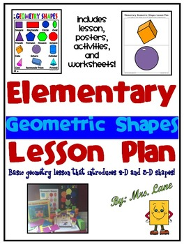 Elementary Geometric Shapes Lesson Plan