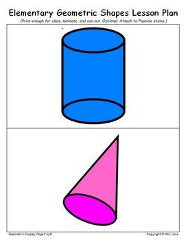 Elementary Geometric Shapes Lesson Plan