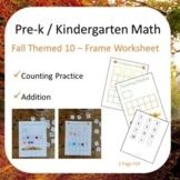 Pre-K & Kinder Math Printable