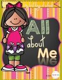 Pre-K & Kindergarten All About Me!