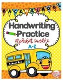 Pre-K & Kindergarten Alphabet Tracing Worksheets (Directional Tracing)