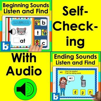 Boom Cards Bundle for Pre K - Kindergarten - Letters, Numbers, Rhyming