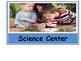 Pre-K/Kindergarten Classroom Centers signs