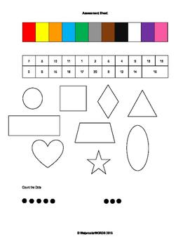 Pre-K/Kindergarten Math Assessment