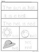 Pre-K Kindergarten Mini Summer Packet Alphabet Numbers Fine Motor worksheets