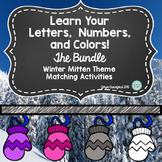 Learn Your Letters, Numbers, and Colors! A Recognition and Matching Bundle
