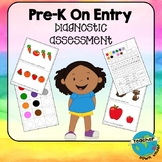 Pre-K (Australian Kindergarten) On Entry Diagnostic Assessment