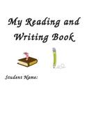 Pre-K / Kindergarten Reading and Writing Practice Book