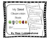 Pre-K & Kindergarten Seed Observation Book