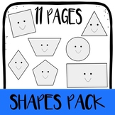 Shapes Pack - Counting Sides and Corners