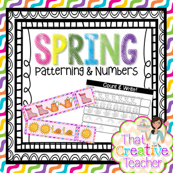 Pre-K & Kindergarten Spring Freebie