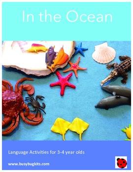 Pre K Language - Ocean / Beach theme