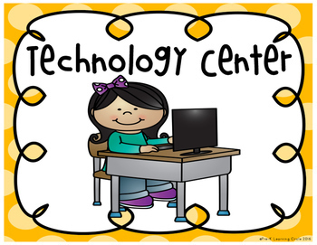 pre k learning center signs by pre k learning circle tpt rh teacherspayteachers com Games Clip Art Writing Center Clip Art