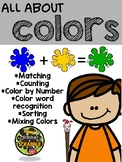 Pre-K Learning Colors