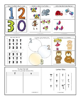 Pre-K Lesson Plans Bundle MONTH 2 by GBK!!!! New!!!