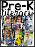 Pre-K Literacy Curriculum Units BUNDLED  | Homeschool Comp
